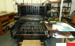 heidelberg sbg die cutter cylinder