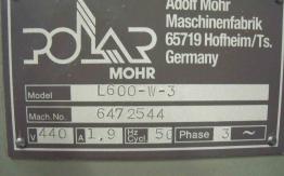 POLAR L-600-W PILE LIFT