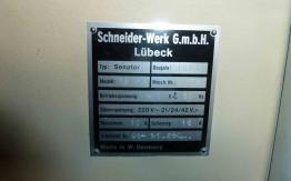 SCHNEIDER 76 SC GUILLOTINE FOR SALE