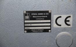 STAHL KD 66 6KTL PAPER FOLDING MACHINE