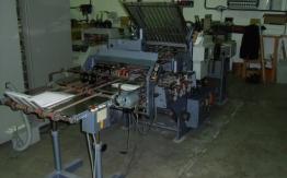 STAHL K 56-4 KTL PAPER FOLDING MACHINE