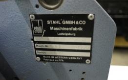 STAHL T-50 4/4 PAPER FOLDER