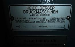 HEIDELBERG GTO 52-1 SINGLE COLOUR OFFSET