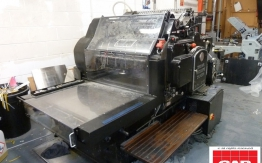 heidelberg sbg cylinder die cutter for sale