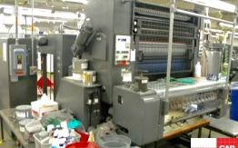 heidelberg sors 1 colour offset with alcolor dampening