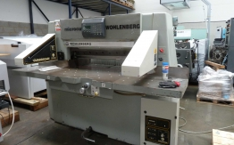 WOHLENBERG 90 GUILLOTINE FOR SALE