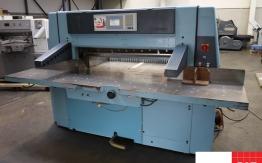 wohlenberg 115 cm guillotine - paper cutting machine