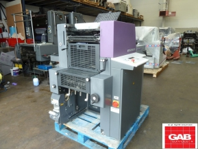 Single colour used offset printing machines HEIDELBERG QM 46-1 ONE COLOUR OFFSET
