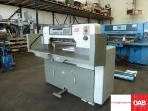 Used guillotine machines used polar 76 em paper cutter