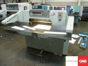 Used guillotine machines USED POLAR 76 EM PAPER GUILLOTINE FOR SALE