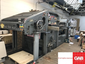 Used Die Cutters Finishing Machines BOBST AUTOPLATINE SP1080-180T DIE CUTTER