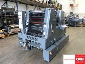Two colour used offset printing machines 1988 Used Heidelberg GTO ZP-52 two colour offset
