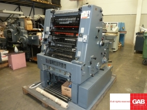 Single colour used offset printing machines 1988 Used Heidelberg GTO 52-1 offset printing machine