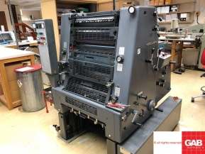Single colour used offset printing machines 1992 Heidelberg GTO 52 single color offset printing machine for sale