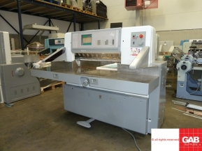 Used guillotine machines 1999 Used Polar 92 E paper guillotine