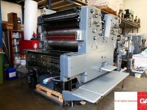 Two colour used offset printing machines 2 Color Offset Printing Machines - Heidelberg SORSZ for sale