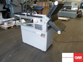 Used folder machines 2002 Morgana UFO 2 paper folding machine