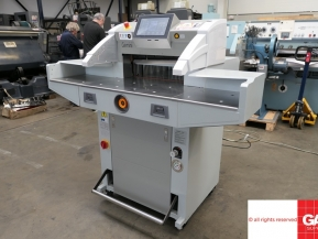 Used guillotine machines Gemini R5210 V9.4 (Hydraulic) Guillotine - single phase paper cutter