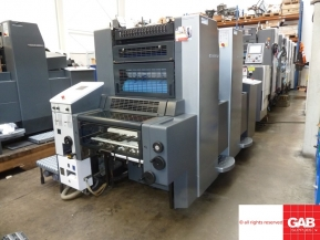 Two colour used offset printing machines Heidelberg SpeedMaster SM 52-2 two colour offset