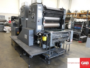 Two colour used offset printing machines Heidelberg SORDZ offset printing machine fro sale