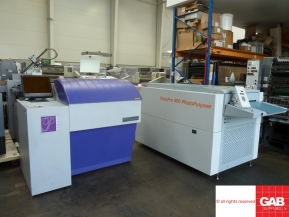 Used Pre - press Machinery Highwater Python 74 CTP system for sale