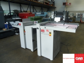 Used Other Machinery MORGANA AUTOCREASAR PRO 50-730820T  with MORGANA AUTOFOLD- PRO