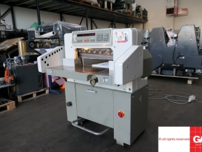 Used guillotine machines Polar 55EM guillotine - Paper Cutting Machine