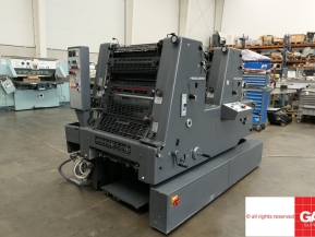 Two colour used offset printing machines Used Heidelberg GTO 52-ZP two colour offset