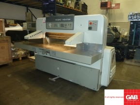 Used guillotine machines 1990 Used Polar 115 EMC-MON guillotine for sale