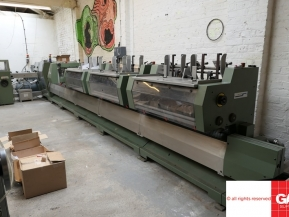 Used saddle stitching machines Muller Martini Presto Saddle Stitching Line - 6 stations plus cover
