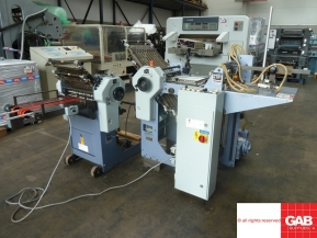 Used folder machines Used Stahl T36 4-4 pharmaceutical paper folding machine