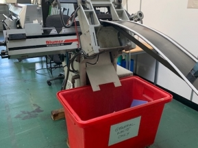 Used Other Machinery Atlas Blumer D-18 M Label Punching Machine from UK