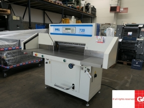 Used guillotine machines Duplo 720 PFI programmable guillotine for sale