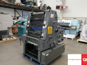 Single colour used offset printing machines Used GTO 52 one color offset printing machine