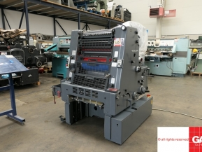 Single colour used offset printing machines GTO52 offset for sale UK - Heidelberg GTO 52-1 colour