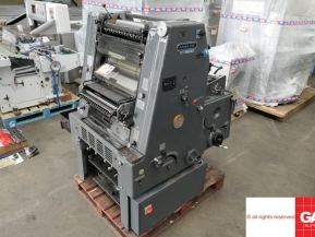 Single colour used offset printing machines Heidelberg GTO 46 NP one colour offset