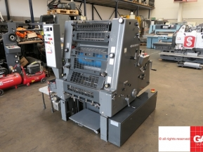 Single colour used offset printing machines Heidelberg GTO 52-1 one color offset printing machine