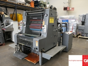 Single colour used offset printing machines Heidelberg MO-S one color offset printing machine