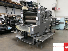 Two colour used offset printing machines Used Heidelberg SORDZ two color offset printing machine