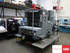 Two colour used offset printing machines Used Heidelberg SORMZ two colour offset