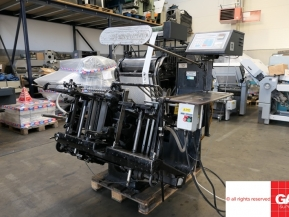 Used Die Cutters Finishing Machines Heidelberg GT-Platen with Hot Foil Stamping