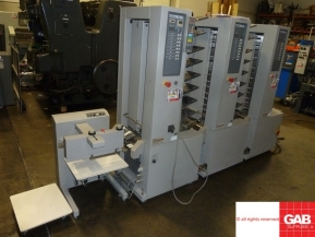 Used Other Machinery 3 x Horizon MC-80 collators with ST-20 stacker delivery