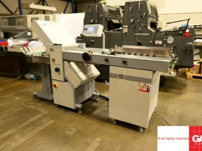 Used folder machines MB Multimaster CAS 38 paper folder - automated paper folding machine
