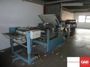 Used folder machines used MBO paper folding machine - model K67-4KL