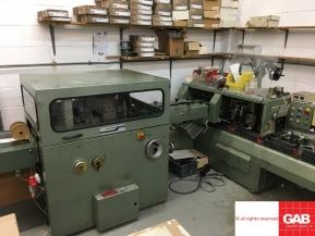 Used saddle stitching machines Muller Martini Minuteman 1509 saddle stitcher for sale