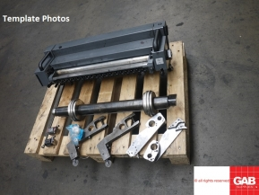 Used Other Machinery Numbering & Perforating Attachment for Heidelberg Printmaster GTo 52 Offsets