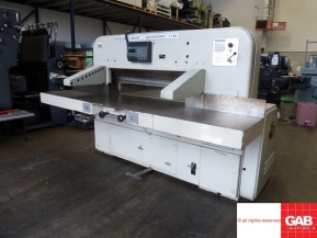 Used guillotine machines used polar 115 guillotine - model 115 EL