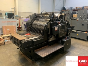 Used Die Cutters Finishing Machines Original Heidelberg Cylinder - die cutter