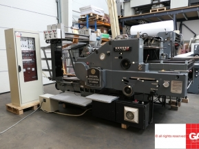 Used Die Cutters Finishing Machines Original Heidelberg SBD Cylinder with Puricelli Hot Foil Stamping