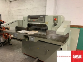 Used guillotine machines Polar Mohr 76 EM paper guillotine - paper cutter